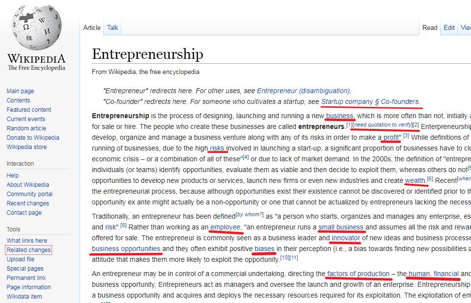 Search traffic SEO Entrepreneurship