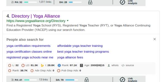 Yoga Niche Directory