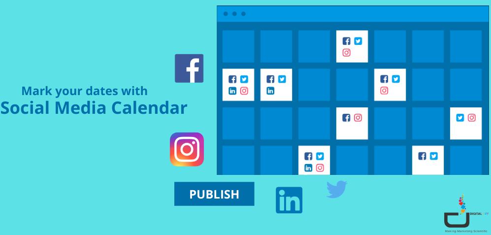Mark your dates with a social media calendar